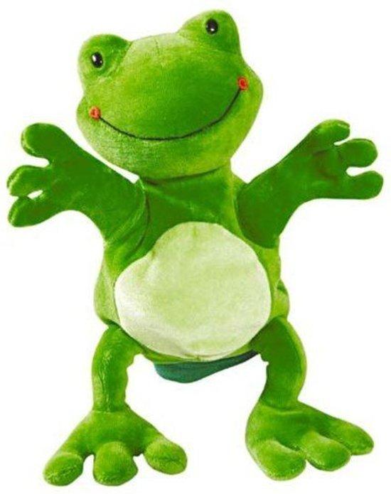 Beleduc Kikker Speelhandschoen - Handpop
