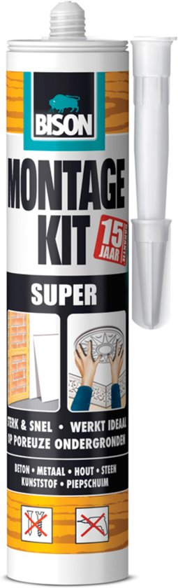 Bison Montagekit Super - 310 ml