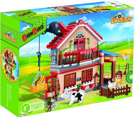 165606b4aebc96 bol.com | Banbao Eco Boerderij Woonboerderij - 8581, BanBao | Speelgoed