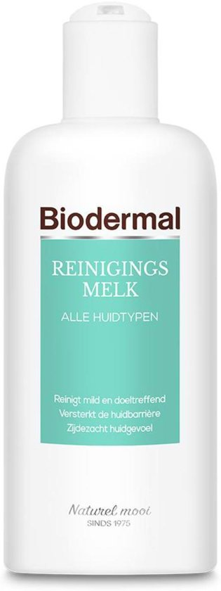 Biodermal Reinigingsmelk - Milde gezichtsreiniging - 200ml