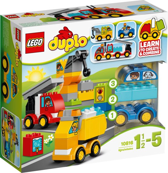 LEGO DUPLO Mijn Eerste Wagens en Trucks - 10816