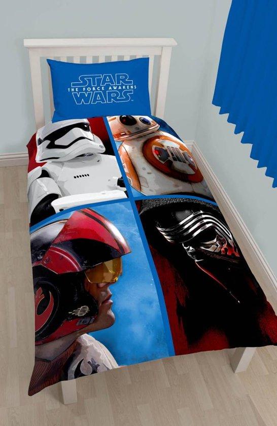 Star Wars Divider - Dekbedovertrek - Eenpersoons - 140 x 200 cm - Multi