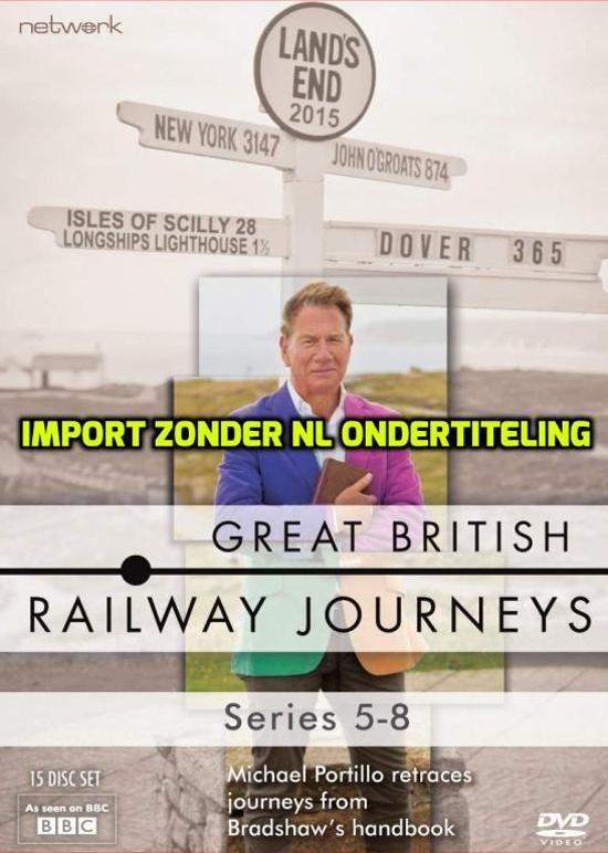 Great British Railway Journeys: Series 5-8