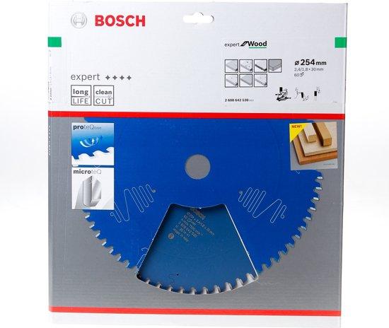 Bosch Cirkelzaagblad 60 tanden Wood Negative ABT 254 x 30 x 2.4mm