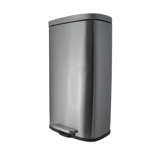 Prullenbak 50 L Aanbieding.Steeldesign Gleo Coninx Pedaalemmer 50 Liter
