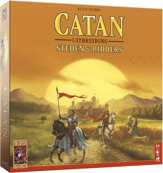 De Kolonisten van Catan Uitbreiding Steden en Ridders - Bordspel