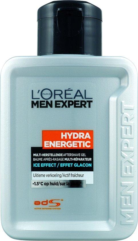 L'Oréal Men Expert Hydra Energetic Ice Effect Aftershave - 100 ml - Gel