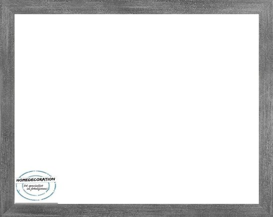 Homedecoration Misano – Fotolijst – Fotomaat – 37 x 46 cm  – Antraciet
