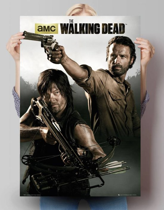 Reinders Poster The Walking Dead - Banner - Poster - 61 × 91,5 cm - no. 24364