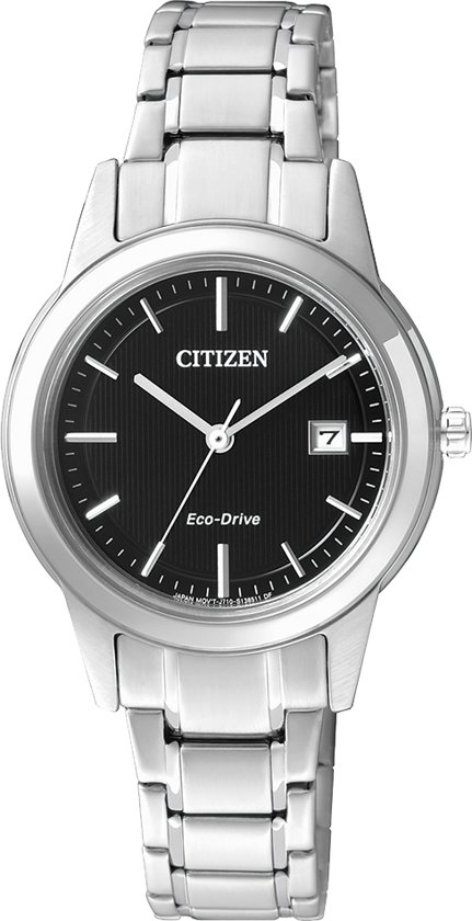 Citizen FE1081-59E - Horloge - Staal - Zilverkleurig - Ø 29.5 mm