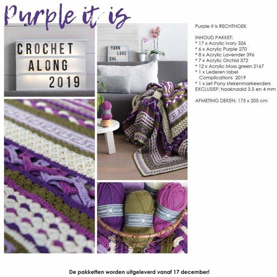 Bolcom Complications Cal 2019 Purple It Is Rechthoek