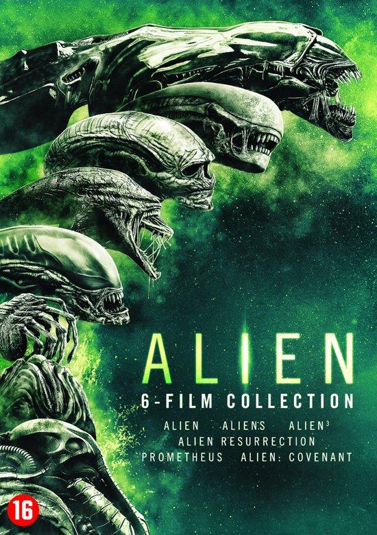 DVD cover van Alien 1 t/m 6 Boxset