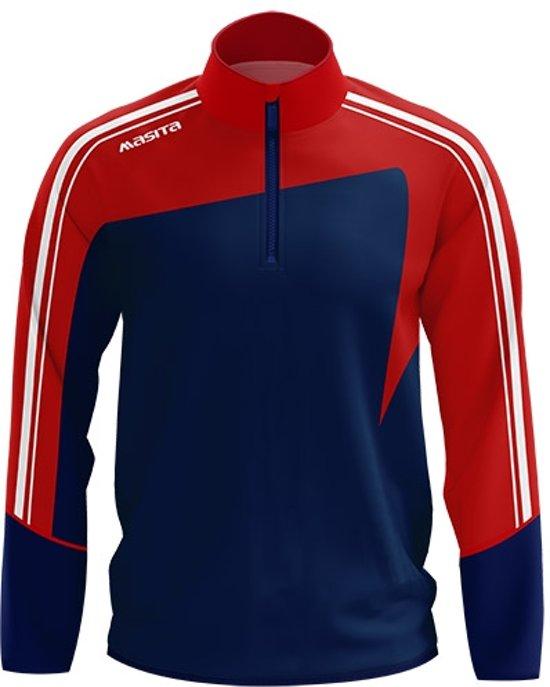Donker Masita Zip SweaterSweaters Blauw S Forza wNmn0v8