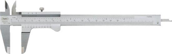 Zakschuifmaat 300mm, 0,05mm MAHR