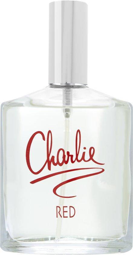Revlon Eau De Toilette Charlie Red 100 ml - Voor Vrouwen