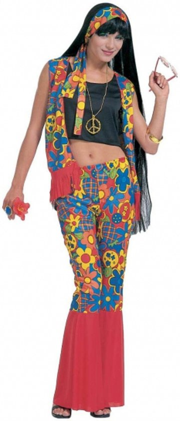 bol | hippie kleding voor dames 36 (s), merkloos | speelgoed