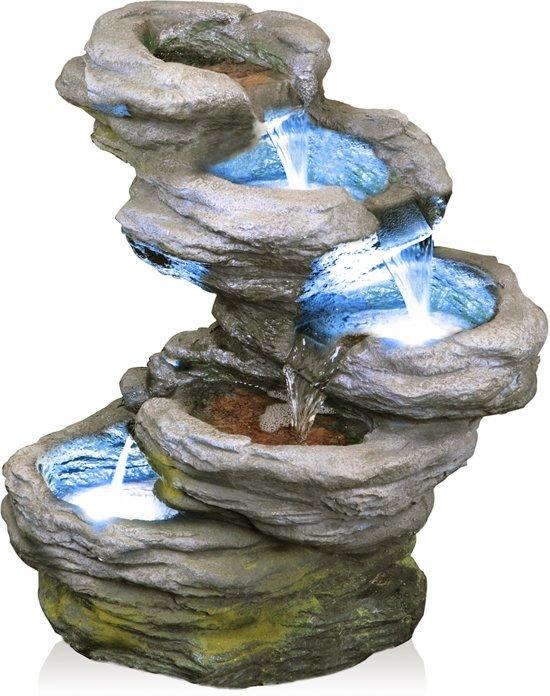 Sanke Vijf Lagen Waterval met LED verlichting