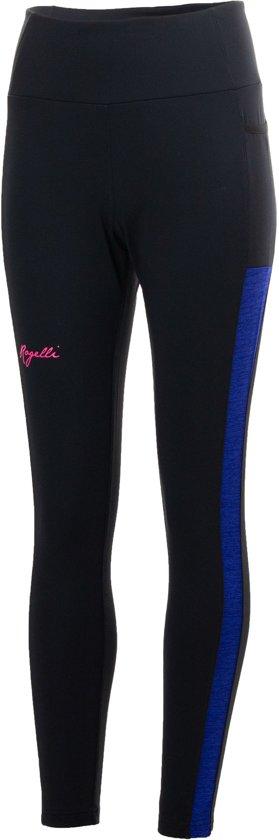 Rogelli Rogelli Cosmic Hardlooptight  Sportbroek - Maat XL  - Vrouwen - Zwart/Blauw/Roze