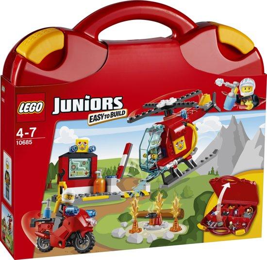 lego juniors brandweer koffer 10685 lego. Black Bedroom Furniture Sets. Home Design Ideas