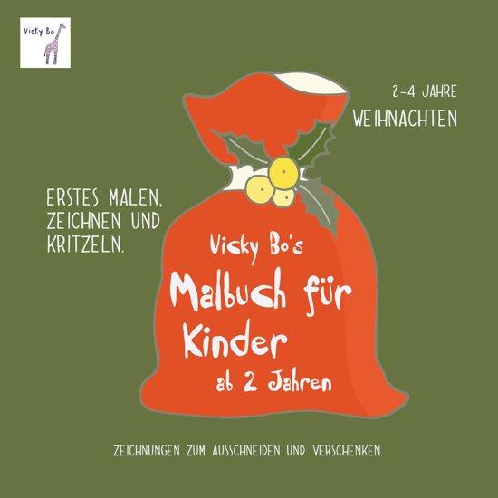 Bol Com Vicky Bo S Malbuch Für Kinder Weihnachten Ab 2 Bis 4