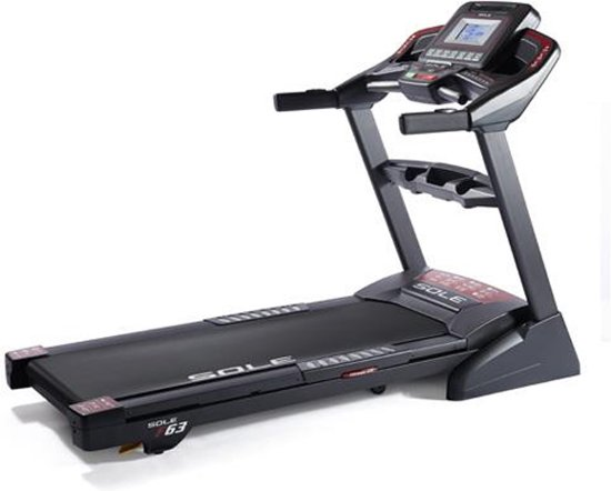 Loopband Sole Fitness F63 - incl. tablethouder en bluetooth