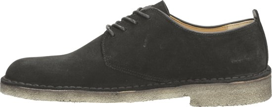 Clarks Desert Boot London Black Suede Zwart Schoenen Heren Maat 40