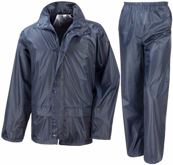 Navy All Weather regenpak voor volwassenen S (38/48)