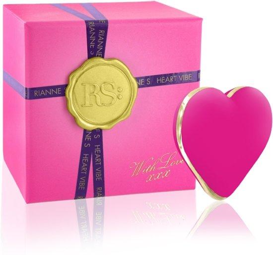 Rianne S Stimulator Heart Vibrator - Roze - 5,5 cm
