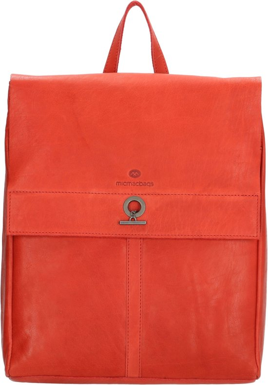 Micmacbags Golden Gate rugzak red