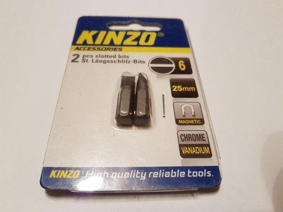 Kinzo 2. st Sleufkop bits