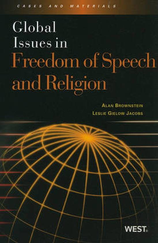 speech about religion