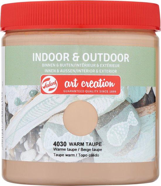 Talens Art Creation indoor & outdoor verf 250ml - Warme taupe