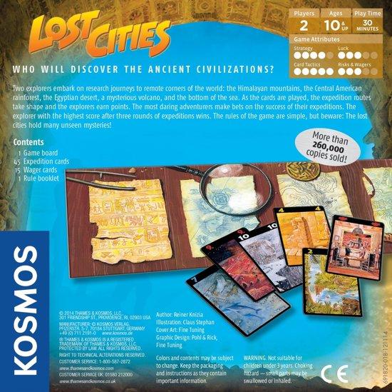 Afbeelding van het spel Lost Cities the Card Game