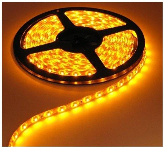 Geel 12V LED Strip 60LED/M IP20 SMD3528 1 Meter