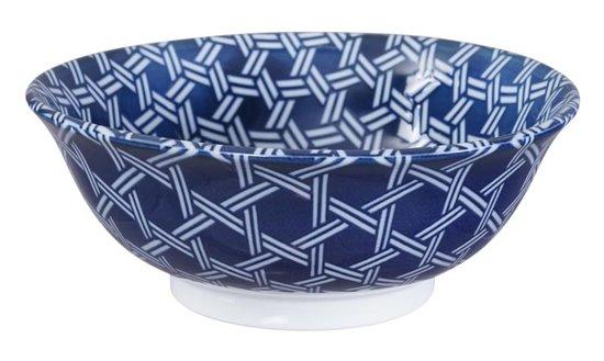 Tokyo Design Studio - Mixed Bowls Noodle Bowl Kagome 20.3x8cmh 1000ml
