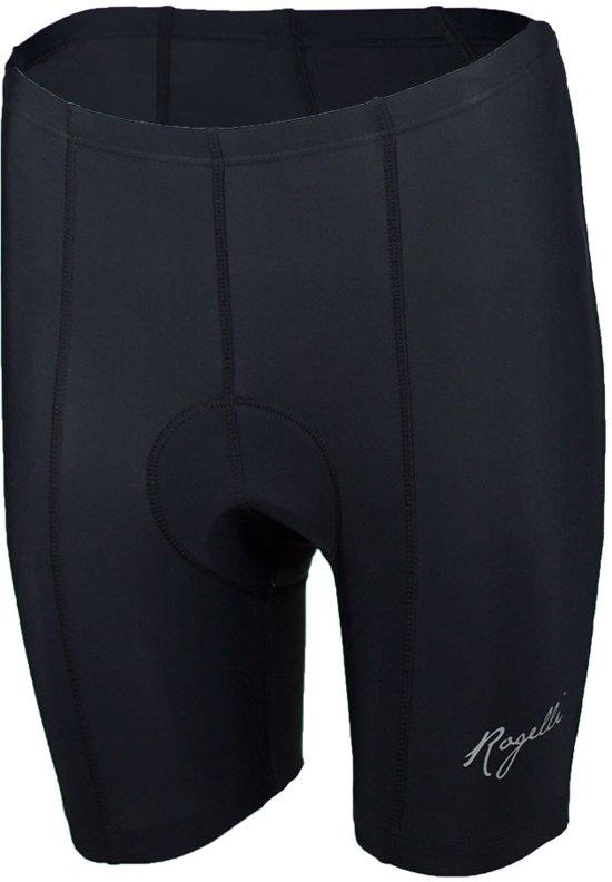 Rogelli Basic de Luxe Short Ladies Fietsbroek - Dames - Maat XXL - Zwart