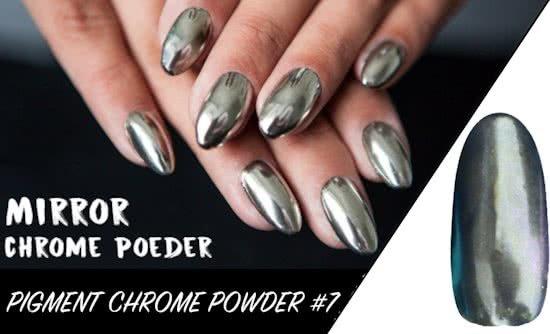Bol.com | Mirror Chrome Powder - Nagel Poeder Pigment #7