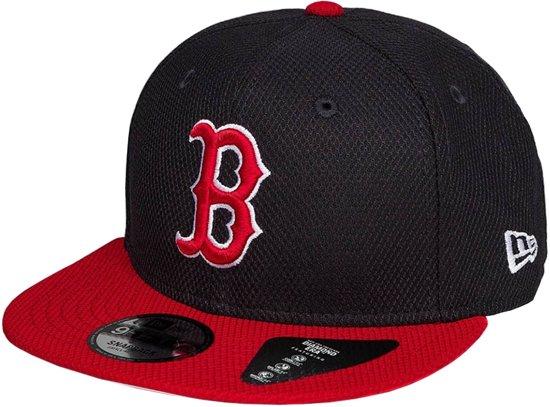 redelijk geprijsd redelijk geprijsd goedkoop kopen New Era Cap 9FIFTY Boston Red Sox Diamond Essential - M/L - Unisex -  Zwart/Rood