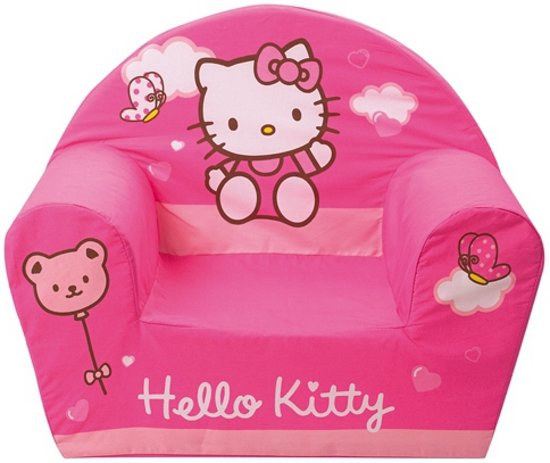 Zitzak Hello Kitty.Bol Com Hello Kitty Kinder Fauteuil