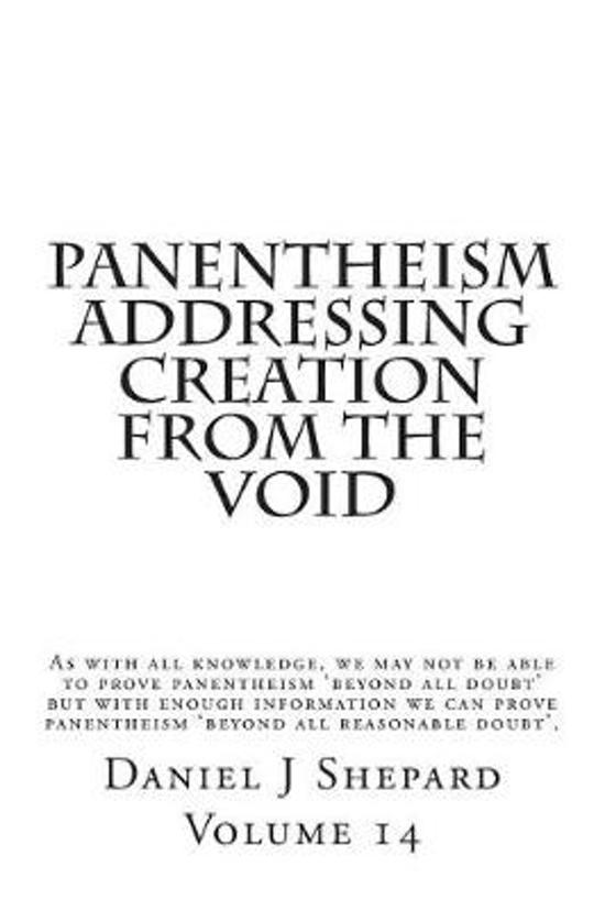 Panentheism Addressing Creation from the Void