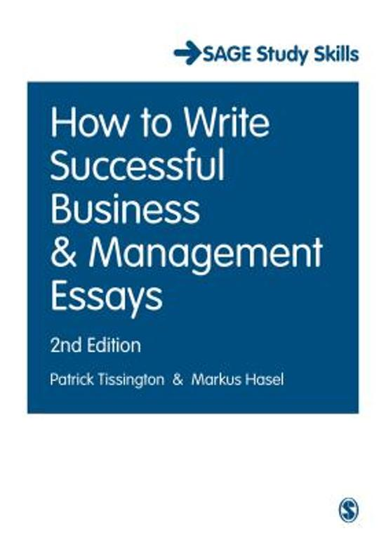 write successful business management essays