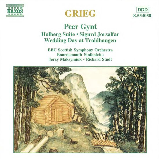 Grieg: Peer Gynt, Holberg Suite, etc / Maksymiuk, et al