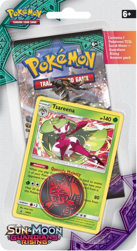 Pokémon Sun & Moon Guardians Rising Checklane Blister Tsareena
