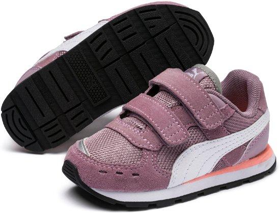 58cb746627d PUMA Vista V Ps Sneakers Kinderen - Elderberry / Puma White - Maat 32