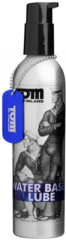 Tom Of Finland Glijmiddel Op Waterbasis - 236 ml