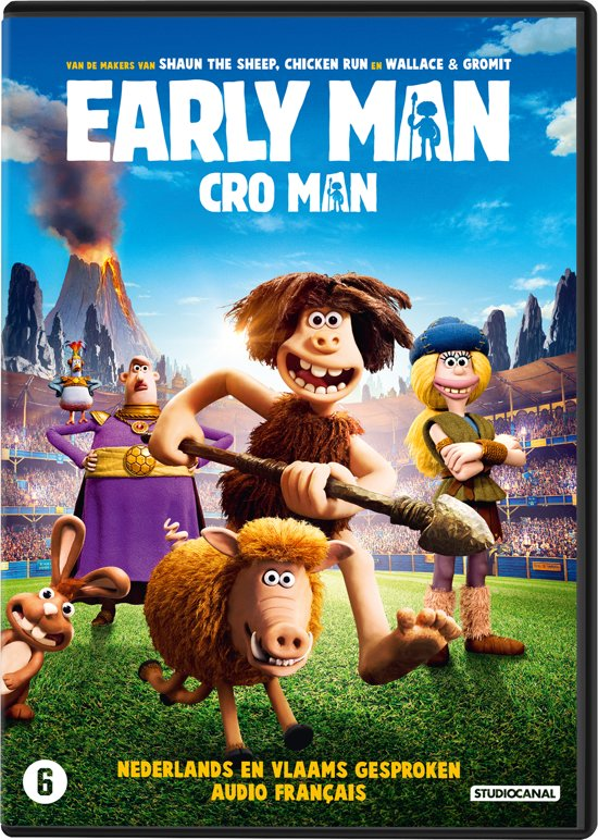 DVD cover van Early Man
