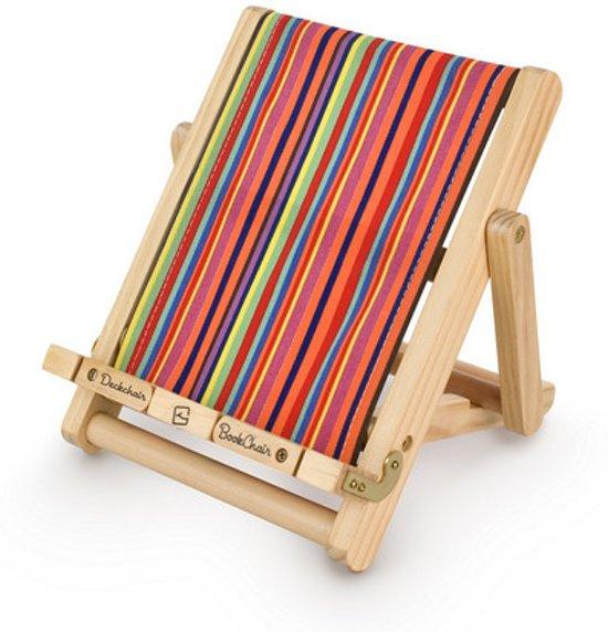Deckchair Bookchair - Gestreept Multi