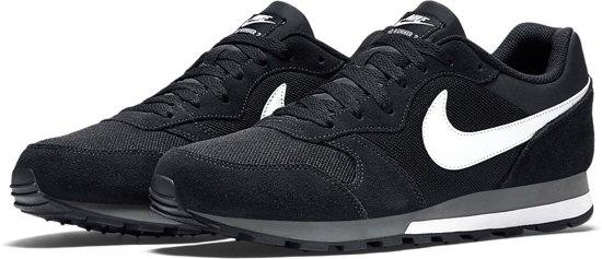 Nike MD Runner 2 Sneakers Heren - Black/White-Anthracite