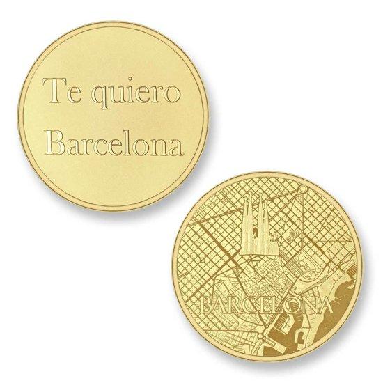 Mi Moneda Del Mundo - Barcelona gold Del Mundo - Barcelona gold munt