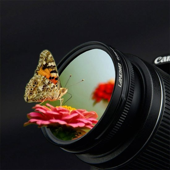 58mm Close up Filter Macro +8 Langwei camera lens filter